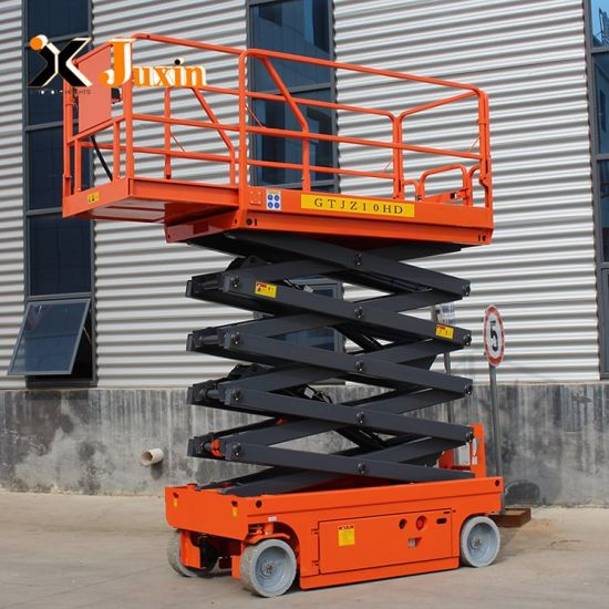 Easy Operation 1 Ton Hydraulic Scissor Lift in Stock