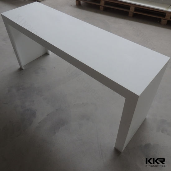 Superb Customize Long Narrow Solid Surface Island Counter Table Bar Andrewgaddart Wooden Chair Designs For Living Room Andrewgaddartcom