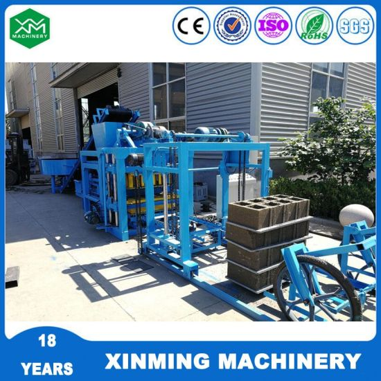 Xinming Qt4-25 Brick Block Making Machine Solid Block Machine for Construction Equipment