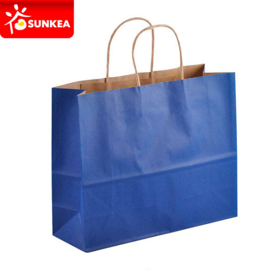 Full Colour Printed Shopping Paper Bag Creative pictures & photos