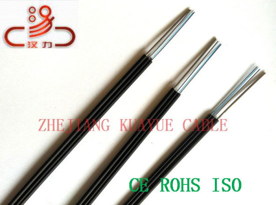 FTTH Drop Wire Fiber Optic Communication Cable pictures & photos