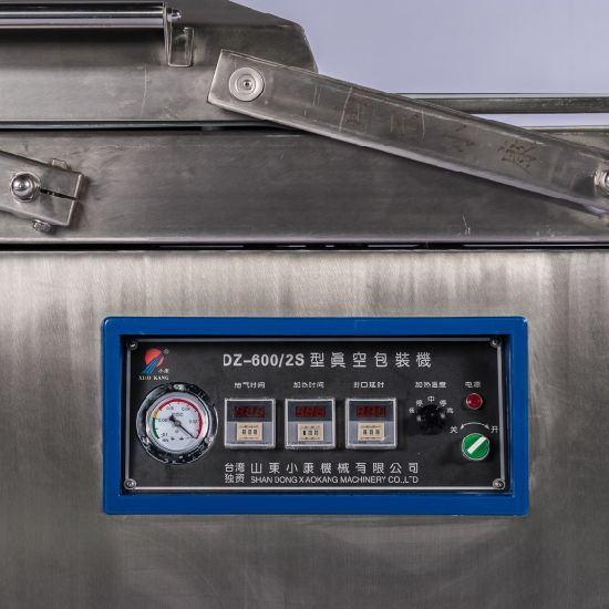 Vacuum Packaging Machine with Gas Flush