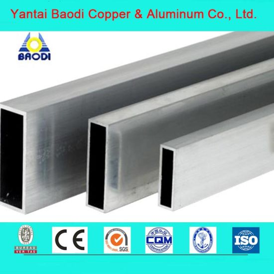 3000 Series Multi-Port Extruded Aluminium Rectangle Tubes Pipe Made in China