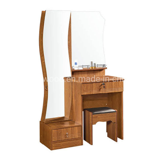 China Bedroom Furniture Factory Direct Sale Cheap Dresser with Mirror