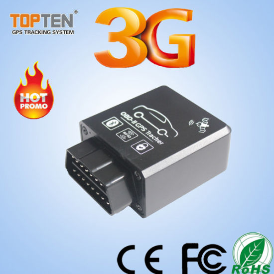 China OBD GPS Tracker Devices with Error Codes From ECU
