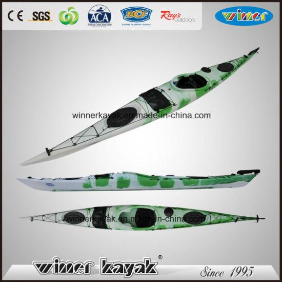 1 Person Kayak Sale / Plastic Canoe Kayak / K1 Racing Kayak