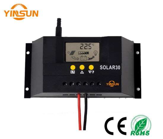 30A 48V Automatic Transfer of Solar Charger Controller (LCD Display) pictures & photos