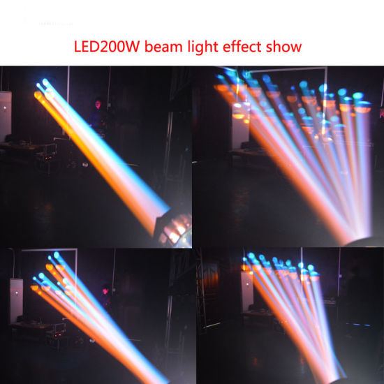 LED 200W Beam Moving Head Light Stage Lighting