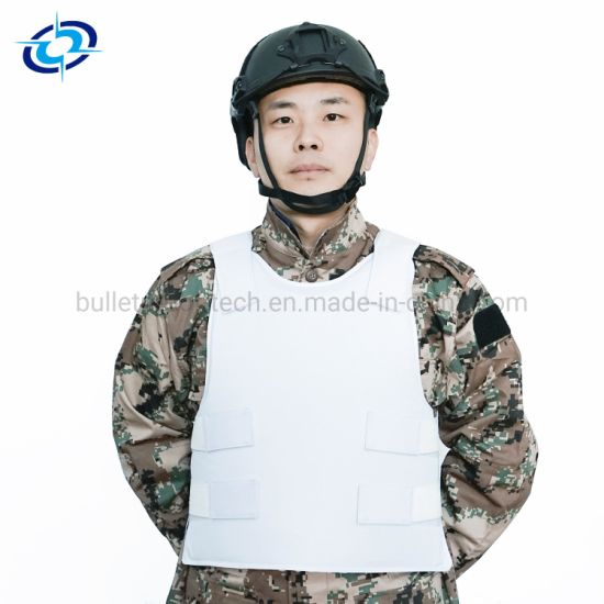 Iiia White Color Combat Aramid Material Ballistic Vest for Military