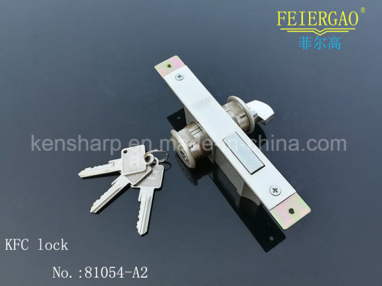 Zl-81054A-St British Standard Mortice Cylinder Aluminum Window Profile Door Lock pictures & photos
