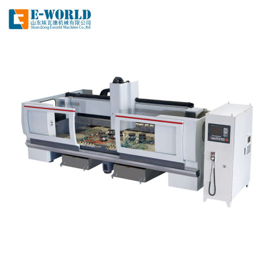 CNC Multi Grinders Shaped Glass Cutting Edging Drilling Machine