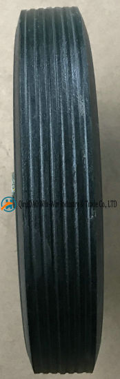 Solid Rubber Wheel Used on Industrial Wheel (8*1.75) pictures & photos