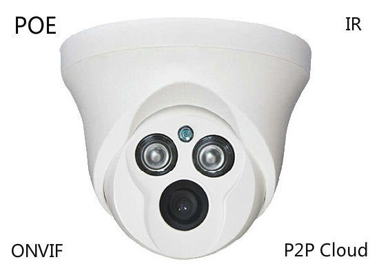 1080P IR Dome Network CCTV IP Dome Poe Camera for Inside Security System pictures & photos