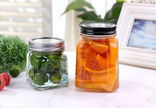 Jam Jar Storage Glass Jar for Canning/Glass Jars for Jam pictures & photos
