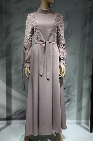 New Style Muslim Islamic Clothing Women Casual Fashion Dress Plus Size Maxi Wholesale Dress