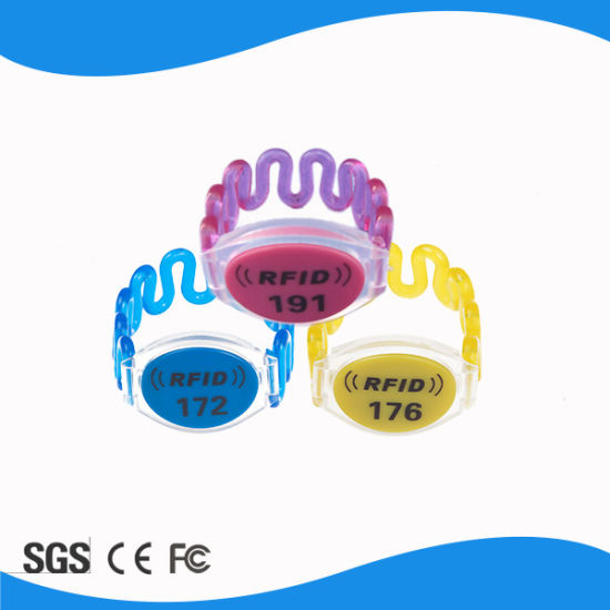 Waterproof 125 kHz Spring RFID Wristband RFID Wristband pictures & photos