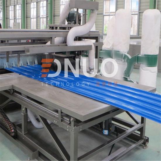 Fiberglass Reinforced Polyester FRP Gel Coated Tile Sheet Making Machine for Construction