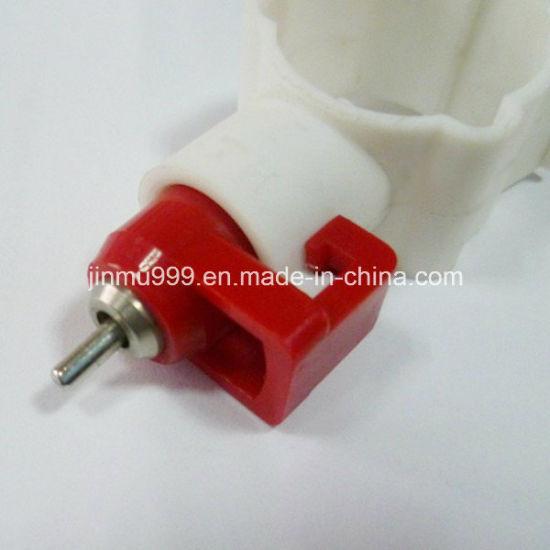 Plastic PE Stainless Chicken Quail Duck Nipple Drinker