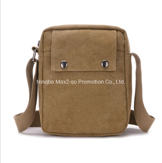 Outdoor Multi-Function Travelling Message Bag Canvas Inclined Shoulder Bag