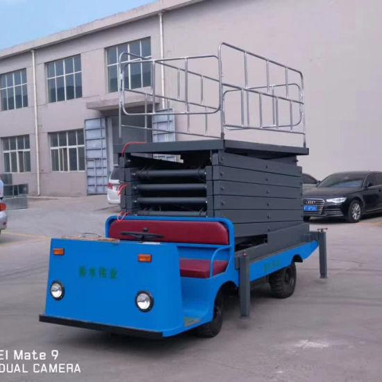 Hydraulic Electric 8-18m Lifting Height Scissor Lift Aerial Lift Platform
