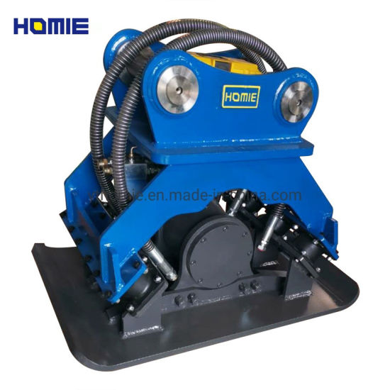 Catch Stone /Wood Excavator Hydraulic Vibrating Plate Compactor