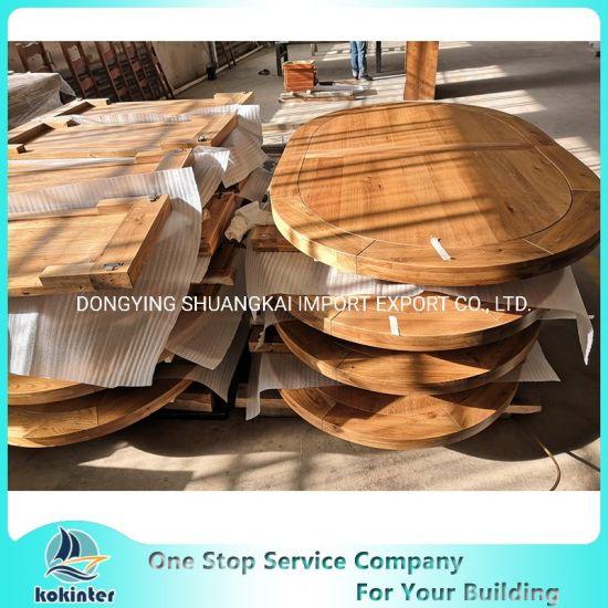 Antique Inlay Tables Wood Countertop Butcher Block Worktop Table Top