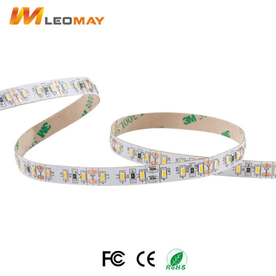 80-90LM/W 3014 120LEDs/m LED Strip with UL&CE For Indoor Use(LM3014-WN120-WW) pictures & photos
