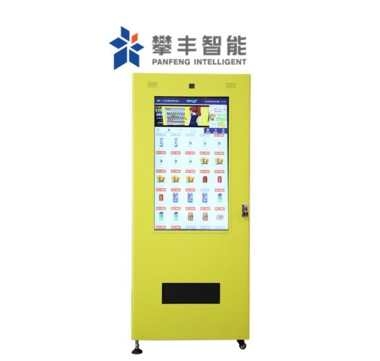 Automatic Food 24h Commercial Coffee Juice Panfeng Bottled Water Beer Beverage Combo Cold Drink Snack Vending Machine