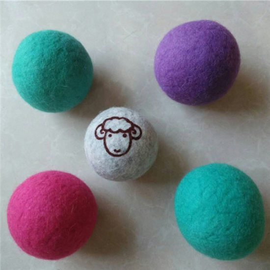 High Quality Felt Laundry Dryer Ball pictures & photos