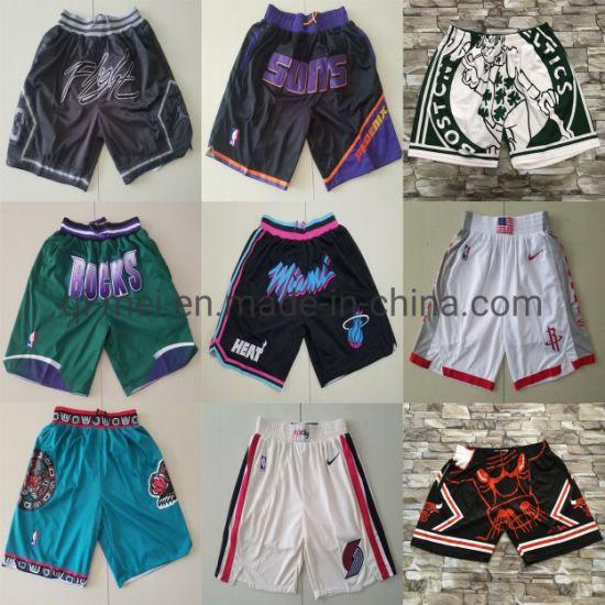 2020 Newest Just Don Suns Buck Heat Celtics Basketball Shorts
