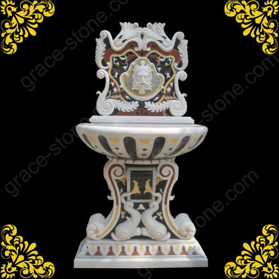 Marble Wall Fountain for Garden Ornament pictures & photos
