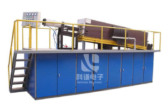Automatic Intermediate Frequency Induction Heating Diathermy Forging Line for Metal Tempering