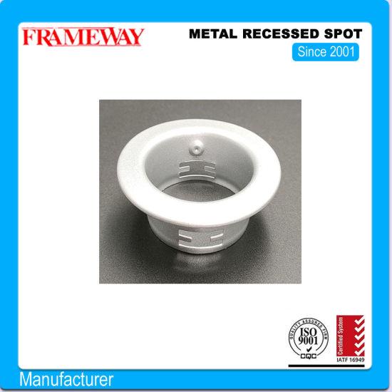 OEM / ODM Metal Stamping Lamp Cap Shell Light Fittings