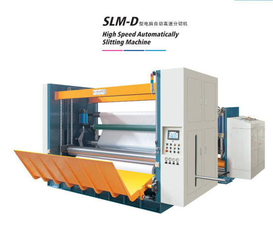 Automatic High Speed Paper Roll to Roll Slitting Machine