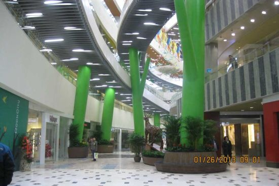 Steel Structure Shopping Mall (SS-562)