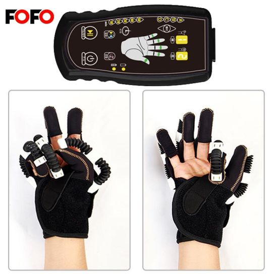 Stroke Hand Wrist Orthosis Splint Therapy with Rechargeable Machine
