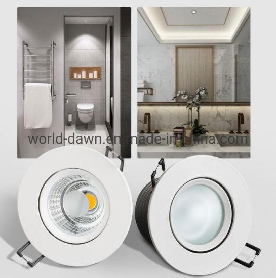 7W Waterproof IP65 Bathroom Panel Lights Anti-Rust LED Ceiling Downlight