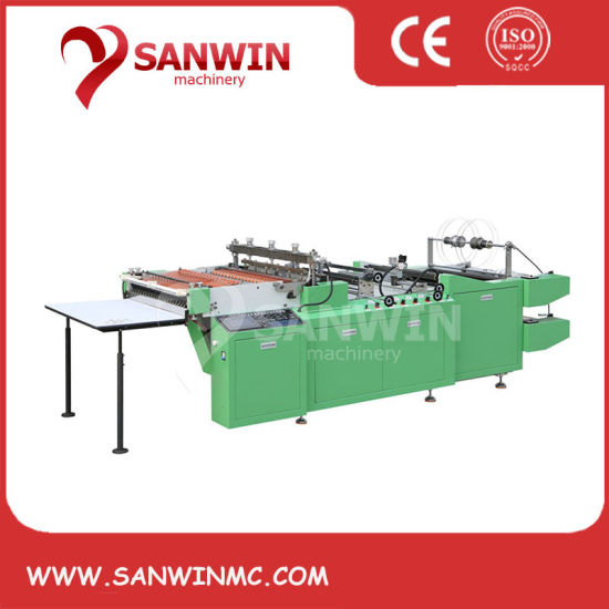 Heat-Cutting Plastic Bag Side Sealing Machine Price