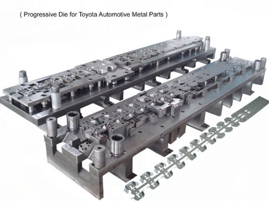 Progressive Tool Stamping Mould for The Toyota Auto Part Tooling