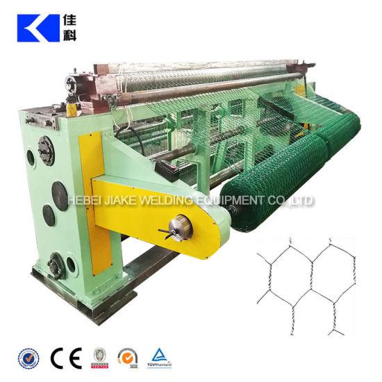 Reverse Twists Hexagonal Wire Netting Machine