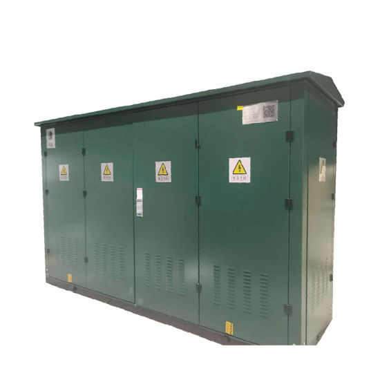 Outdoor Stainless High Voltage Gas Insulation Ring Network Cabinet With Green Color