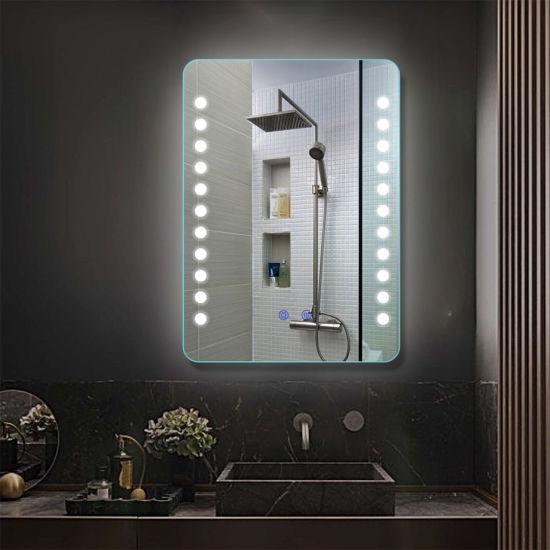 China Customzed Illuminated LED Vanity Mirror Lighting for Bathroom Make-up
