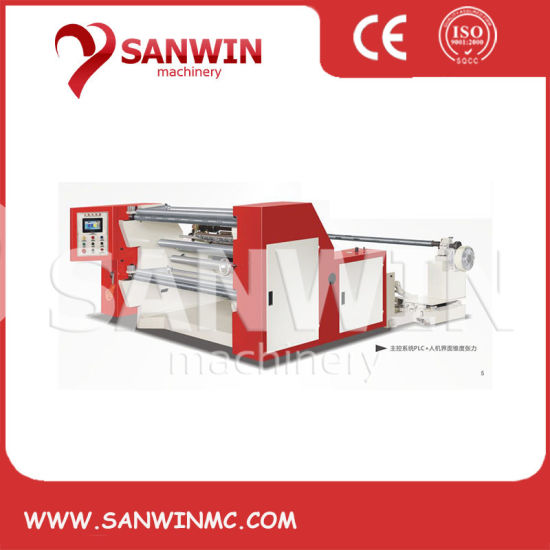 Computer High Speed Slitting Machine for Roll Materials