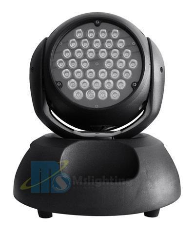 36*1W/3W/5W RGB/RGBW/RGBA/UV/Wa DMX LED Moving Head Light