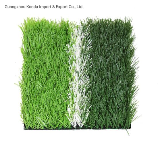 Sample Can Be Offered 50mm Height Green Football Artificial Grass
