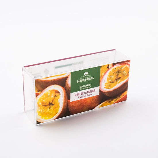 Biodegradable Clear Folding Plastic Box Clear Plastic Box Packaging for Food