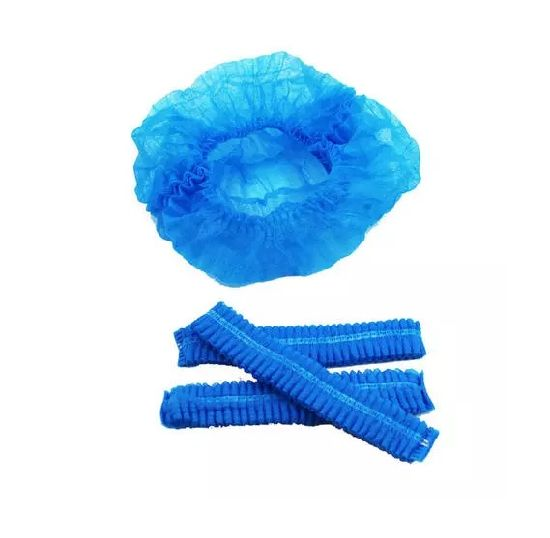 High Quality Colorful Disposable Medical Head Cover Non Woven PP Bouffant Cap