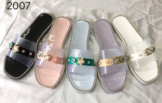 PVC Jelly Slipper Women Shoes 2021