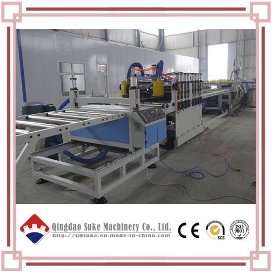PVC Crust Foam Board Extrusion Production Line pictures & photos