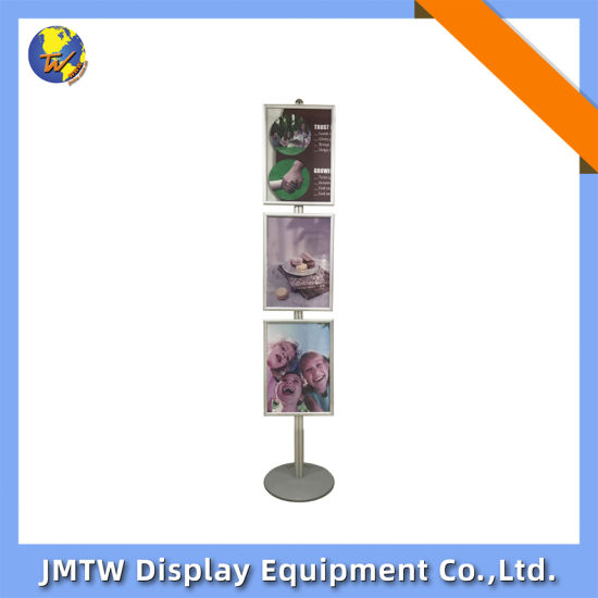 Display Stand for Advertising with Three A2 Poster Frame
